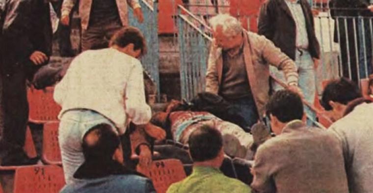 Χαράλαμπος Μπλιώνας - Το πρώτο θύμα της βίας